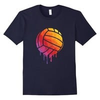 Volleyball Dripping Rainbow - Funny Volleyball Love Tshirt