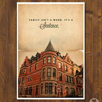 The Royal Tenenbaums - Wes Anderson Movie Poster - Vintage Style Magazine Retro Print Watercolor Background -  Pick your Size