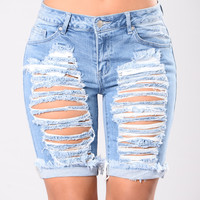 Every Season Shorts - Blue