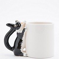 Cat Handle Mug - Urban Outfitters