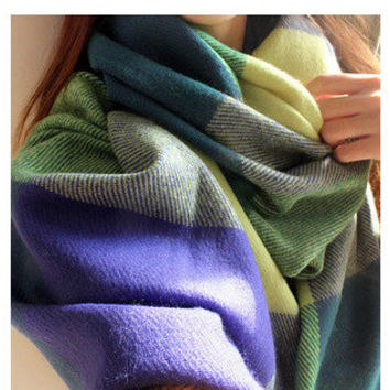 Multi Color Long Scarf