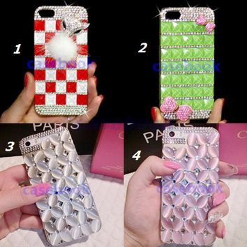 iPod Touch 6, 5 - Eye Catching Gem Bling Case in Assorted Colors