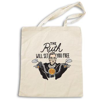 The Ruth Will Set You Free  -- Tote Bag