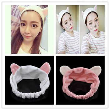 2017 New Arrival  Man With Subsection Orecchiette Hair Bands Face Makeup Hair Bands Hair Accessories Headband