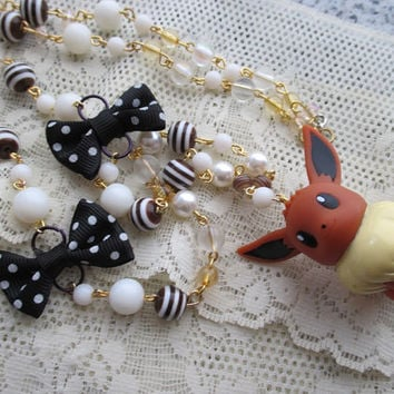 Pokémon Necklace - EEVEE - BANDAI Figure Necklace - Eeveelutions Necklace
