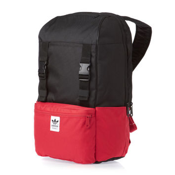 Adidas Originals BP CAMPUS Laptop Backpack - Black/Light Scarlet