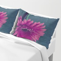 Gerbera for love Pillow Sham by vanessagf