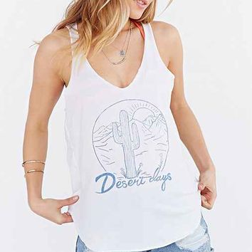 Project Social T Desert Days Tank Top- Ivory