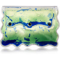 Christopher Kane Aqua gel-filled PVC clutch – 50% at THE OUTNET.COM