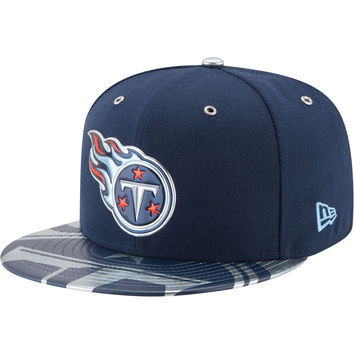 Men's Tennessee Titans New Era Navy NFL Spotlight 59FIFTY Fitted Hat
