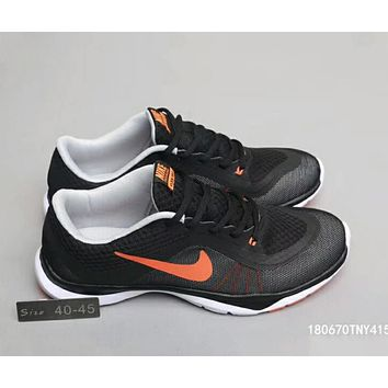 Nike FLEX TRAINER sports running cushioning training shoes F-A0-HXYDXPF