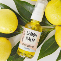 Lemon Balm Citrus Body Oil