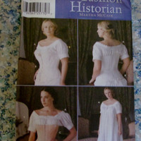 Uncut Simplicity Sewing Pattern, 7215! Size 6-12 Women's/Misses, Corset/Chemise/NightGown/Dress, Historical Reenactment Costume Renaissance