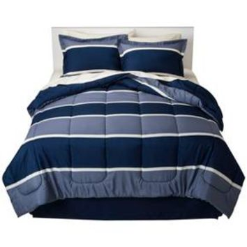 Classic Stripe Bed-In-A-Bag with Sheet Set - Roo... : Target