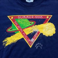 Summer 98s Palatine Public Library T-shirt tees vintage