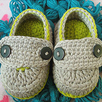 New Style Baby Shoes Crochet Infant Shoes Knitting Toddler Shoes Crochet Newborn Boy Shoes Online(AYY15)