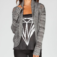 Element Tilda Womens Cardigan Black  In Sizes