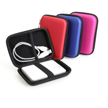 "Portable 2.5"" External USB Hard Drive Disk Carry Case Cover Pouch Bag For PC Laptop Dropship High Quality"