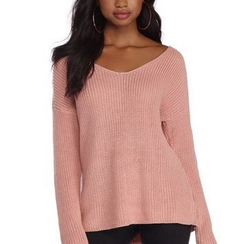 Pink Lattice Play Pullover
