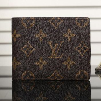 DCCK7BW LV Man Leather Purse Wallet