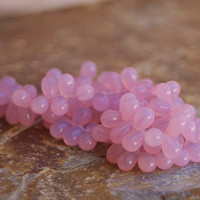 Czech Glass Teardrop Beads - 6x9 mm 20 Pieces