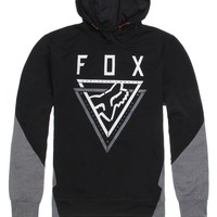 Fox Traverse Pullover Fleece Hoodie - Mens Hoodie - Black
