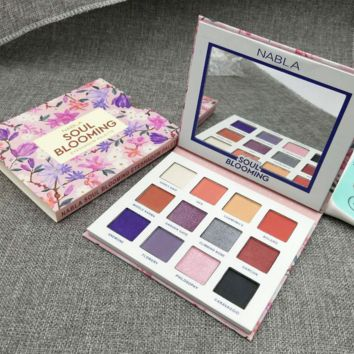 NABLA 12 COLORS SOUL BLOOMING EYESHADOW PALETTE