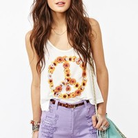 Nasty Gal x MINKPINK Daisy Peace Tank in What's New at Nasty Gal