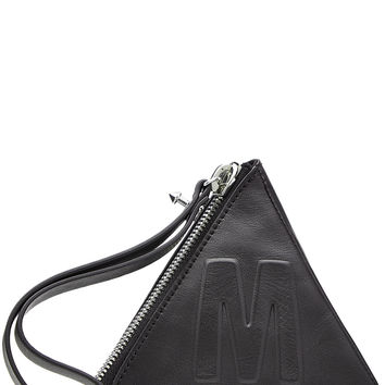 McQ Alexander McQueen - Leather Pyramid Pouch