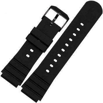 The latest high-quality rubber strap for Luminox Lu Meinuosi military watches 3901 3001 3000 watch accessories