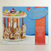 Gingerbread Carousel Kit - World Market