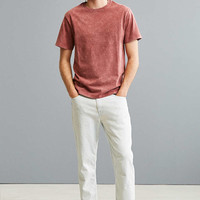 UO Crinkled Standard Fit Tee - Urban Outfitters