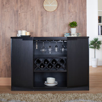 Furniture of America Chapline Modern Wine Bar Buffet | Overstock.com Shopping - The Best Deals on Buffets