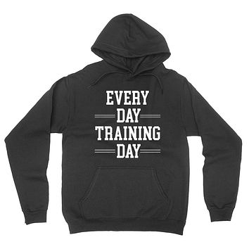 Workout, gym, fitness, yoga outfit,every day training day, running wrestling hoodie