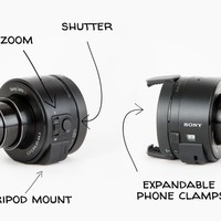 The Sony QX Smart Lens