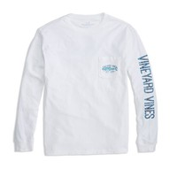 Boys Long-Sleeve Clean Catch Pocket T-Shirt