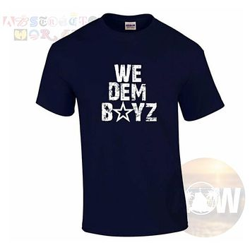 We Dem Boyz Cowboys Football Adult Unisex T Shirt