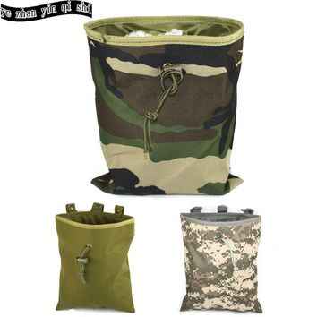 Hunting Military Tactical Mag Dump Pouch Airsoft Paintball Molle magazine Pouch   Ammo Bags free shipping