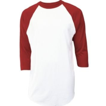 Soffe Men's 3/4 Sleeve Baseball Shirt | DICK'S Sporting Goods