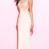 Sheer Back Madison James Prom Dress