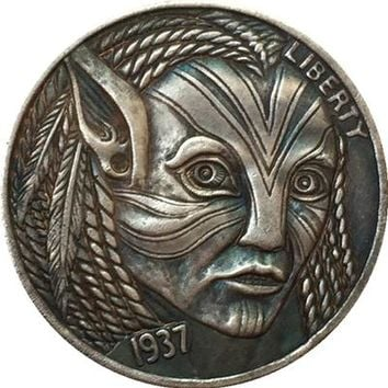 Hobo Nickel 1937-D Avatar