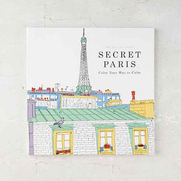Secret Paris: Color Your Way To Calm By Zoe de Las Cases