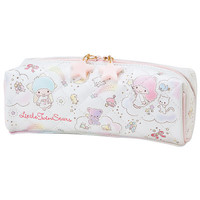 Little Twin Stars Pencil Pen Case Rainbow Shower SANRIO JAPAN