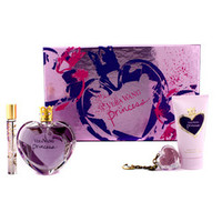 Princess Coffret: Eau De Toilette Spray 100ml/3.4oz + Satiny Body Lotion 75ml/2.5oz + Lip Gloss Keychain 2g/0.07oz + Eau De Toilette Rollerball 10ml/0.33oz 4pcs