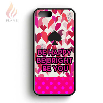 Kate Spade Be Happy Be Bright Be You Dot iPhone 5 Case iPhone 5s Case iPhone 5c Case