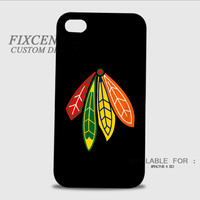 NHL Chicago Blackhawks Logo 3D Image Cases for iPhone 4/4S, iPhone 5/5S, iPhone 5C, iPhone 6, iPhone 6 Plus, iPod 4, iPod 5, Samsung Galaxy (S3, S4, S5, S6) by FixCenters