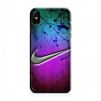 Nike Holographic Style iPhone X Case
