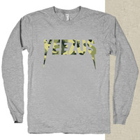 Yeezus Kanye West Kendrick Lamar t-shirt long sleeves happy feed