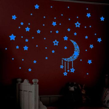 wall stickers home decor Glow In The Dark Stars 3d movie wall stickers room decorations Wall Decals adesivo de parede