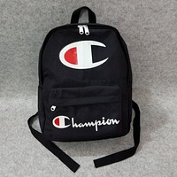 Champion Casual Fashion Simple School Backpack Travel Bag